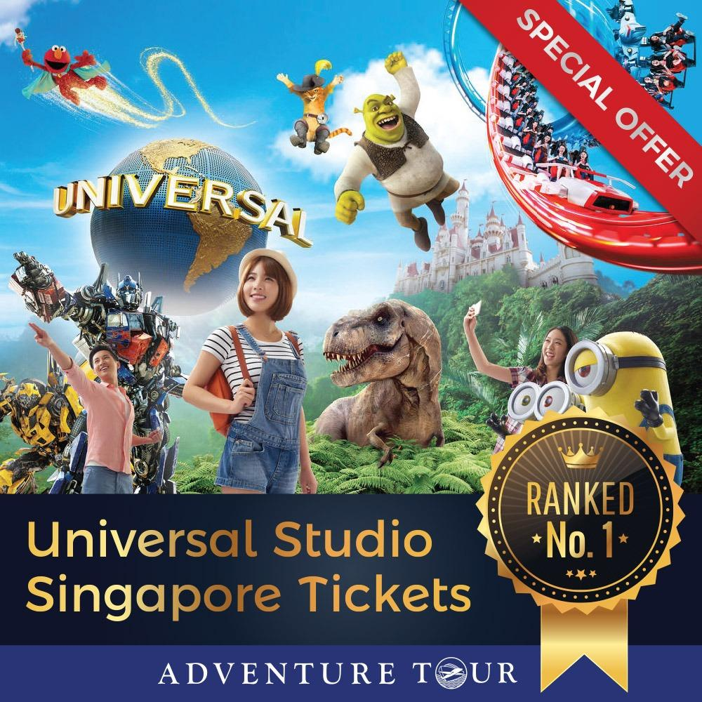 [LOWEST BUNDLE DEAL!] Free 2 Way Batam Ferry Ticket with Universal Studios Singapore Ticket (ADULT)