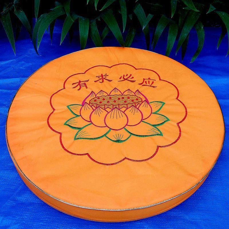 Buddhism Supplies Prayer Mat LOTUS da zuo dian fo dian Prayer Mats Meditation Pad round Buddhist Prayer Room Household Responsive Futon