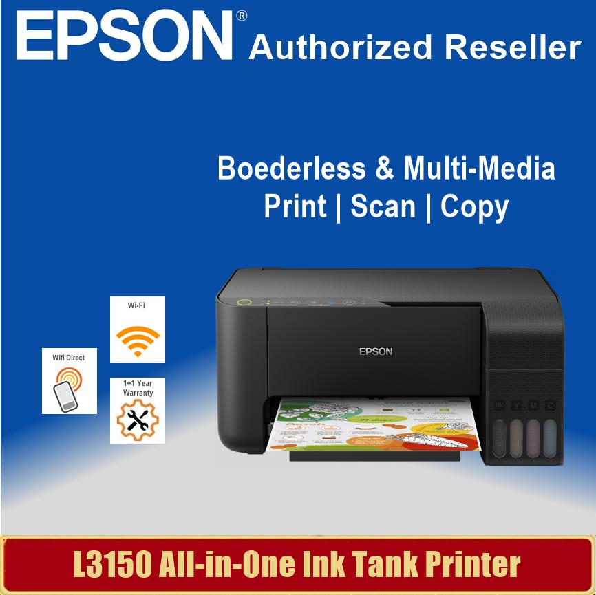 [Local Warranty] Epson EcoTank L3150 All-in-One Ink Tank Printer Singapore