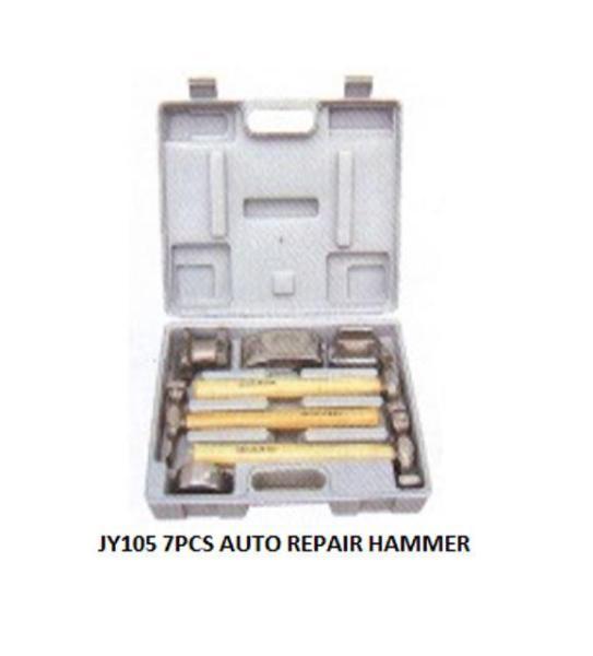 7 pcs Auto Repair Hammer Set