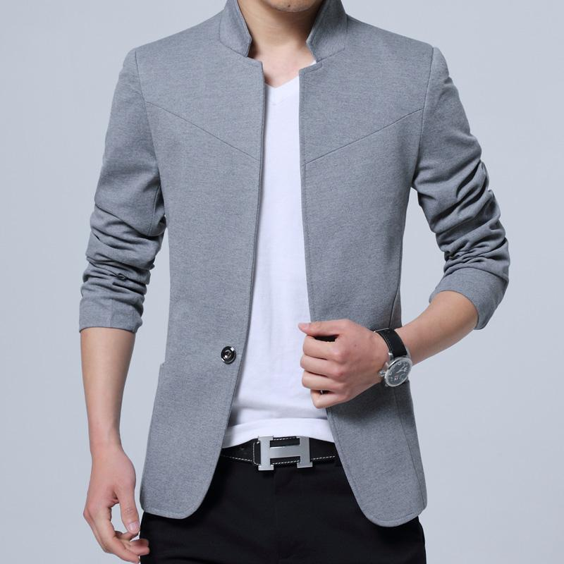 7b9ae054fb5 Spring Clothing Large Size Men Small Suit Slim-Fit Coat Korean Style Leisure  Suit Plus