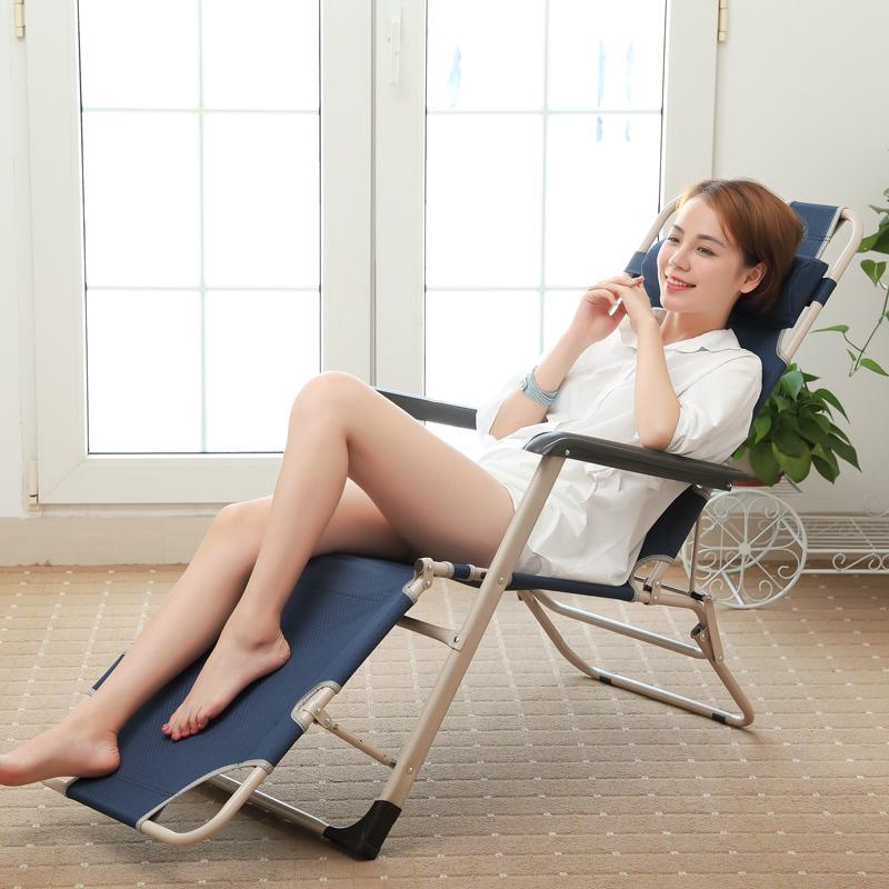 Shome nuo Folding Chair Folding Lunch Break Rollaway Bed Single Person Nap Bed Office wu xiu yi Cot Camp Bed