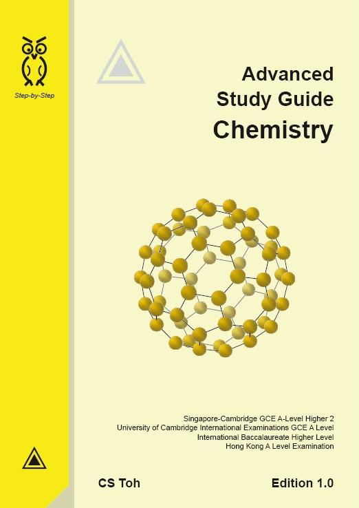 Advanced Study Guide - Chemistry - Ed 1 By Bl Toh Enterprise Llp.