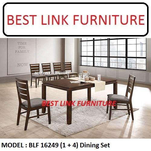 BEST LINK FURNITURE BLF 16249 (1 + 4) Dining Table Set