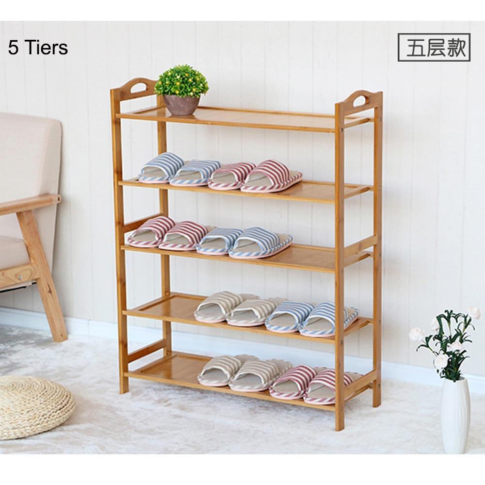 Buying Bamboo Shoe Rack Premium Series 80Cm Shoe Rack Shoe Cabinet