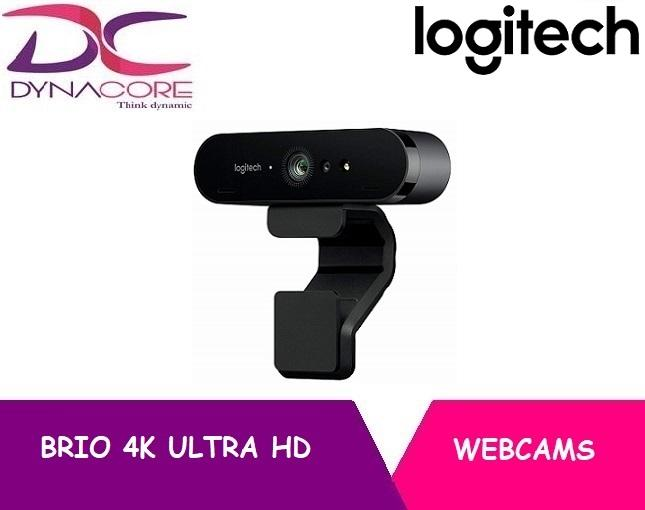 LOGITECH BRIO 4K ULTRA HD WEBCAM (3Y)