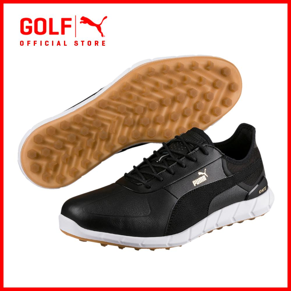 Puma Golf Men Ignite Spikeless Lux Footwear Footwear - Puma Black By Puma Golf Official Store.