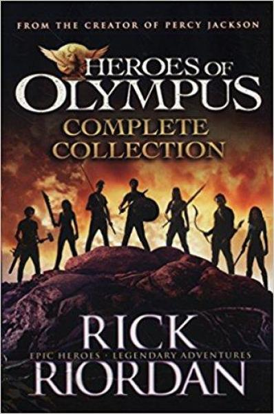 Heroes of Olympus Complete Collection