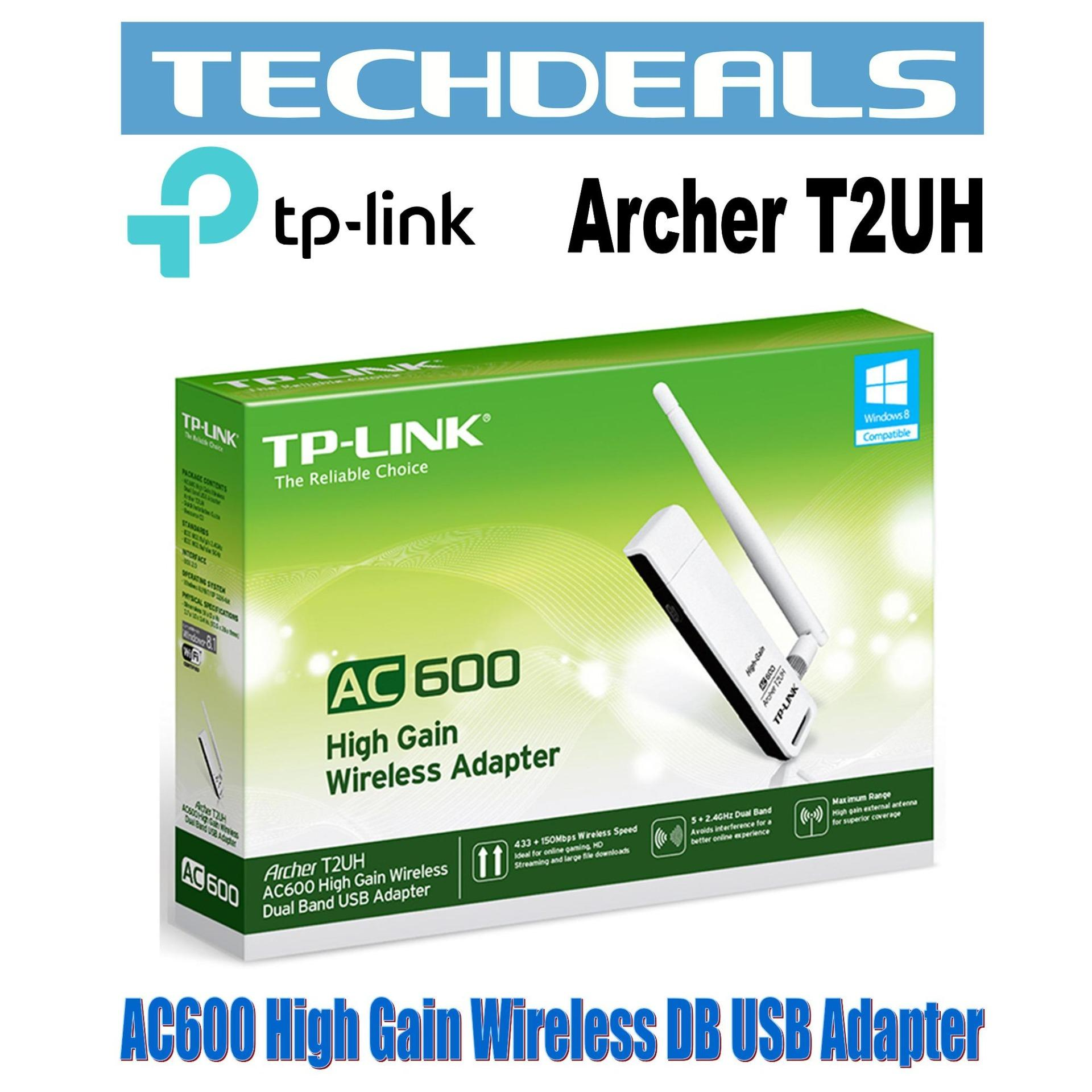 TP-Link Archer T2UH AC600 High Gain Wi-Fi USB Adapter
