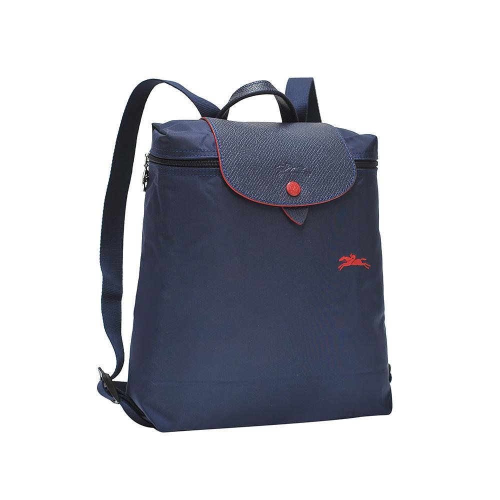 5b2c367a19e8 Longchamp Navy Le Pliage Club Backpack
