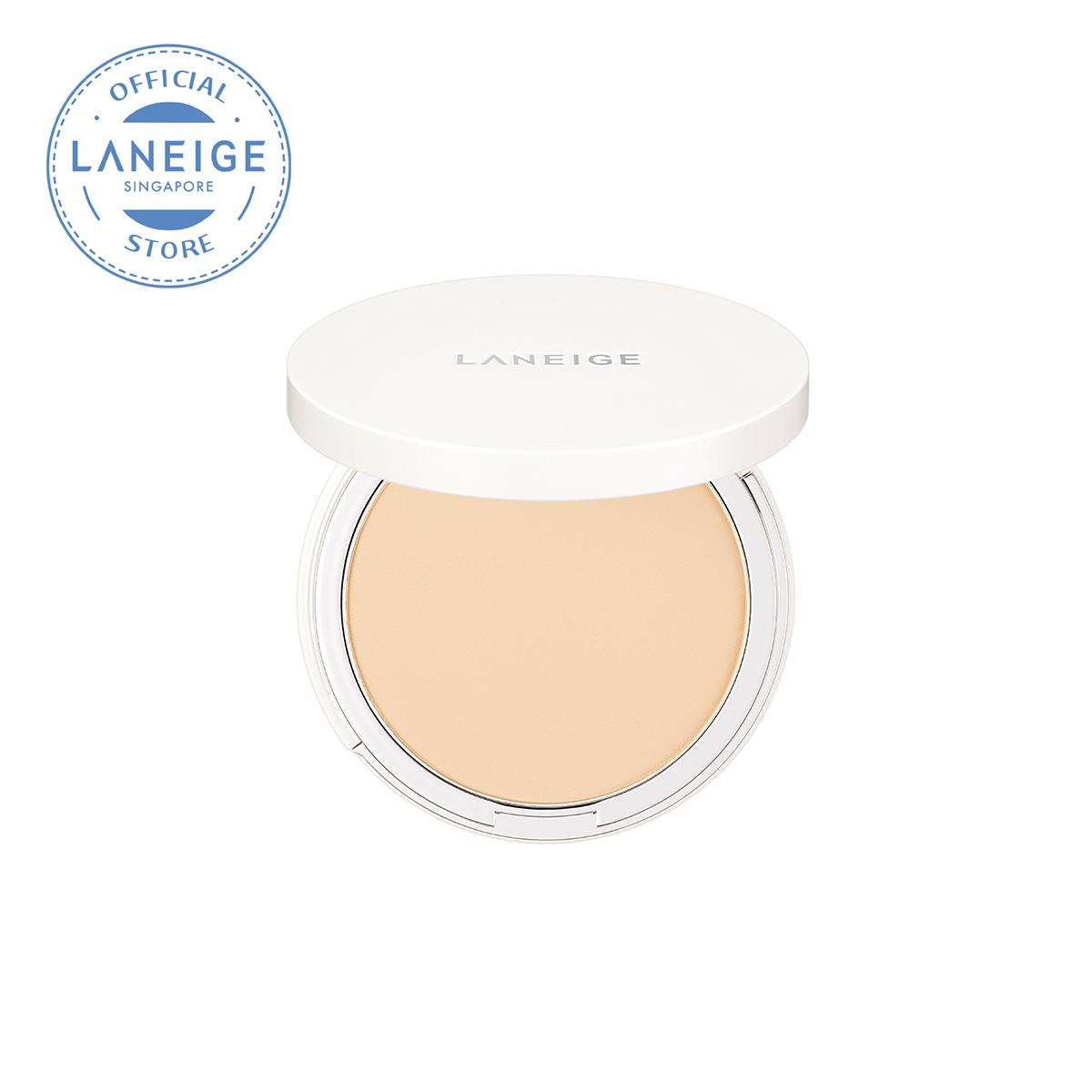 Laneige Light Fit Pact 9.5g [select From 4 Shades] By Laneige (capitaland Merchant).