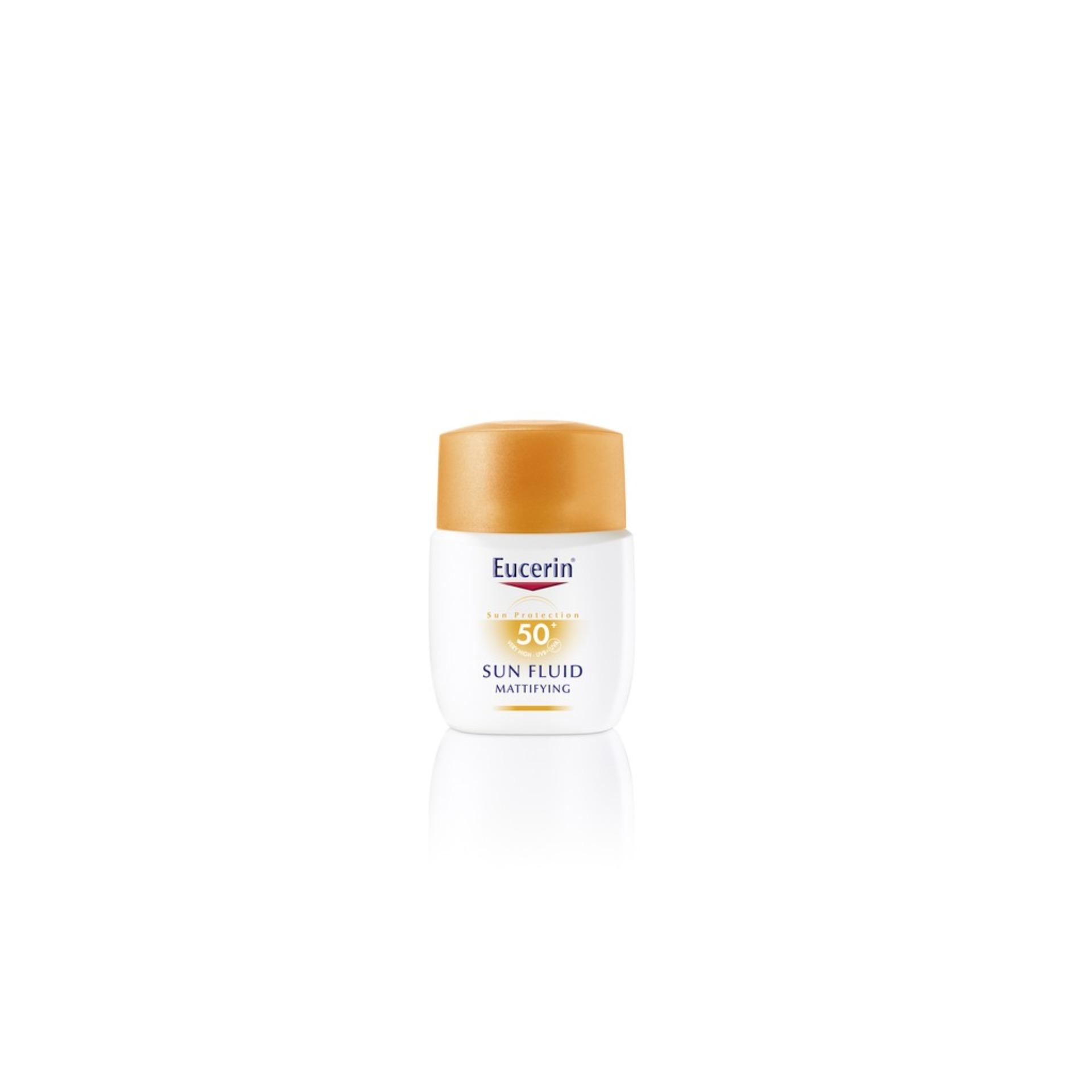 Eucerin Sun Care Unisex Sun Mattifying Fluid Spf50+ 50ml By Eucerin Official Shop.