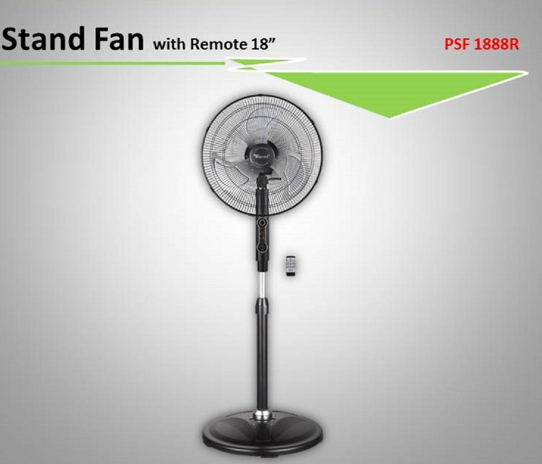 Discount Toyomi 18 Inch Power Stand Fan With Remote Model Psf 1888R 5 Years Warranty Singapore