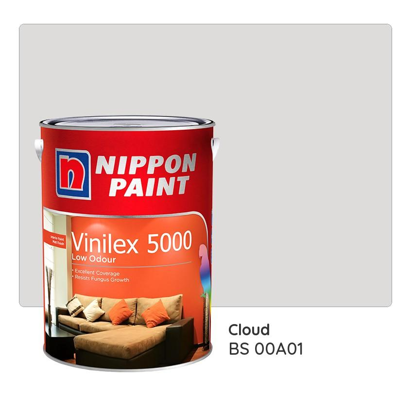 Purchase Nippon Paint Vinilex 5000 Bs 00A01 1L Online