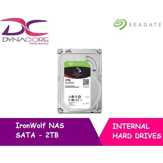 Purchase Seagate 2Tb Ironwolf Nas Sata 6Gb S Ncq 64Mb Cache 3 5 Inch Internal Hard Drive Online