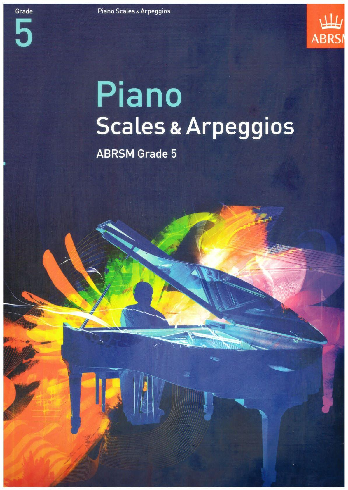 ABRSM Piano Scales & Arpeggios - Grade 5