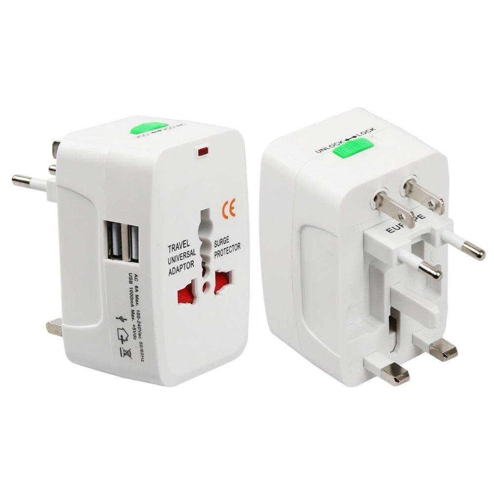 Buy Travel Adapters Converters Lazada Ac Power Wiring Outlet Industrial Socket Bx 6b Plug American All In One Worldwide Adapter Au Uk Us Eu Universal Wall Ac100