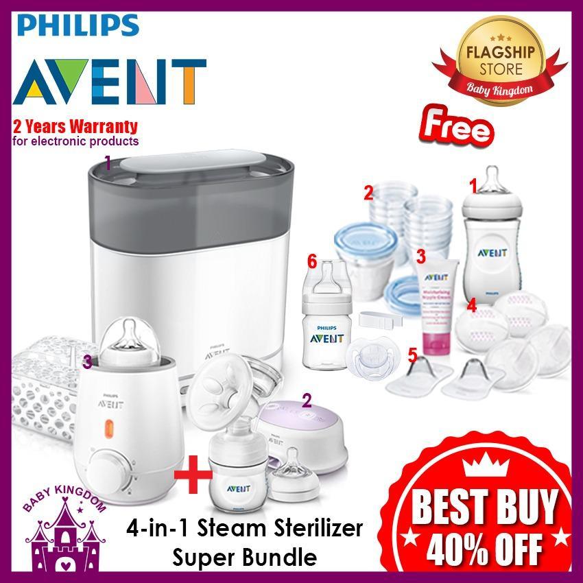 Compare Prices For Philips Avent 4 In 1 Sterilizer Super Bundle