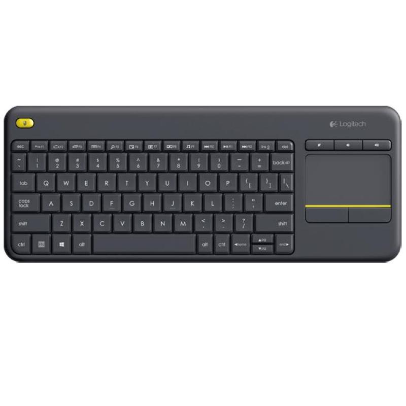 Logitech K400 Plus TV Relaxed Wireless Keyboard Control Singapore