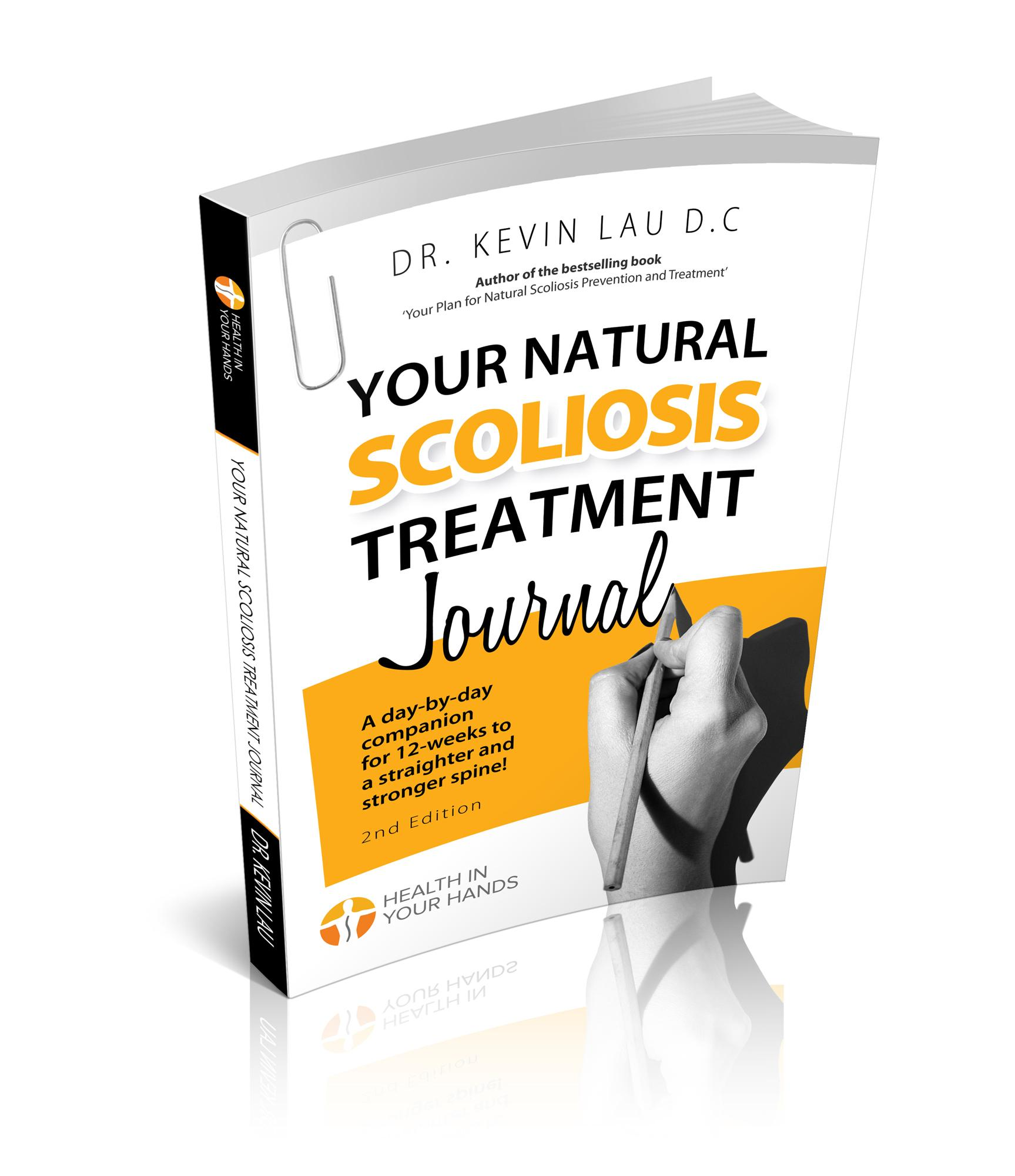 Your Natural Scoliosis Treatment Journal by Dr Kevin Lau