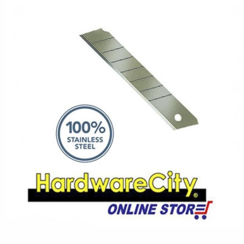 Allway K7B/SS, 18MM Snap Off Blade, 100% Stainless Steel 5PC/PK [K7B/SS]