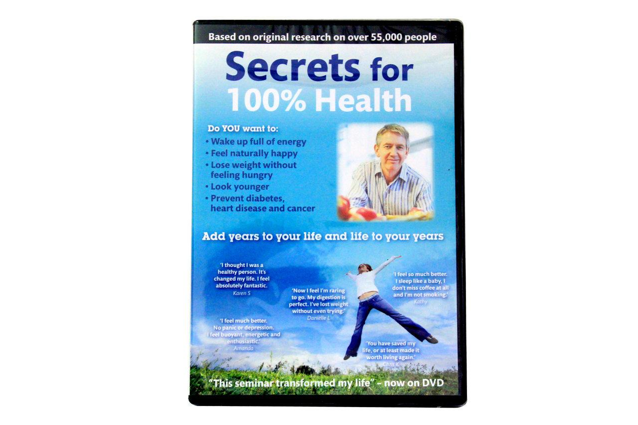 Patrick Holford Secrets for 100% Health (DVD)