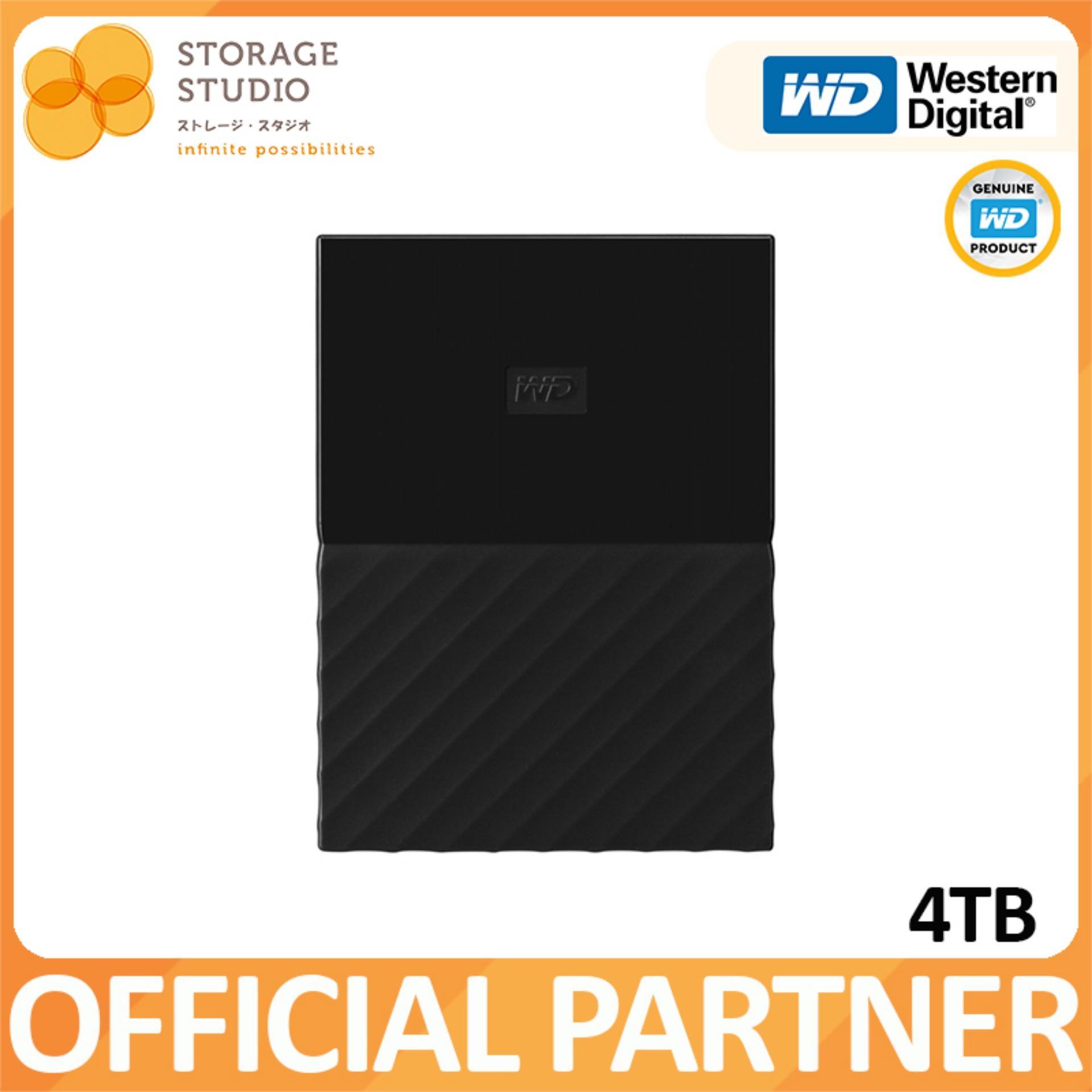 WD MY PASSPORT 4TB USB3.0 Portable Storage