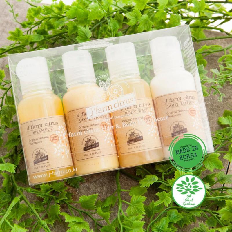 Buy J farm Citrus Hair and Body Travel Set Singapore