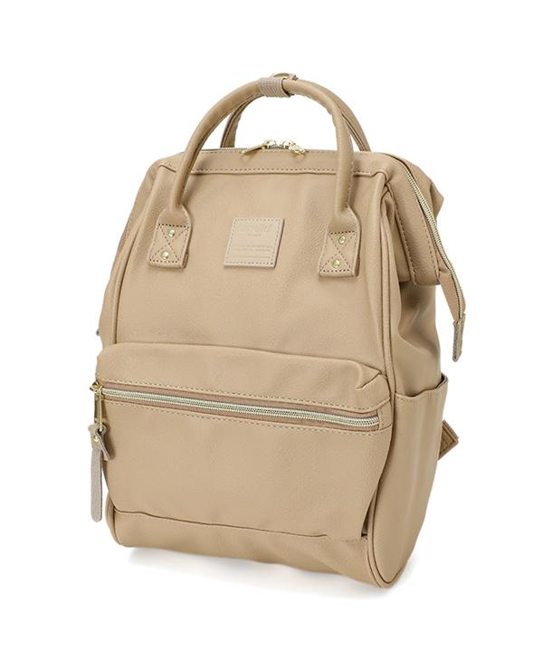 Anello Original Japan Unisex Backpack (NEW 2018 FAUX LEATHER, MINI size) e91d825283
