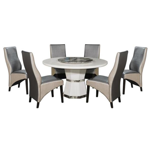 LIVING MALL_Olivia Dining Set_FREE DELIVERY