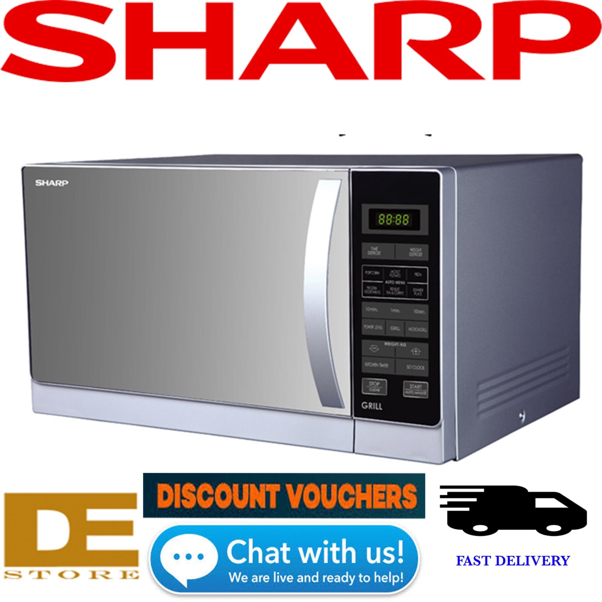 Sharp R 72a1 Compact Grill Microwave 25l