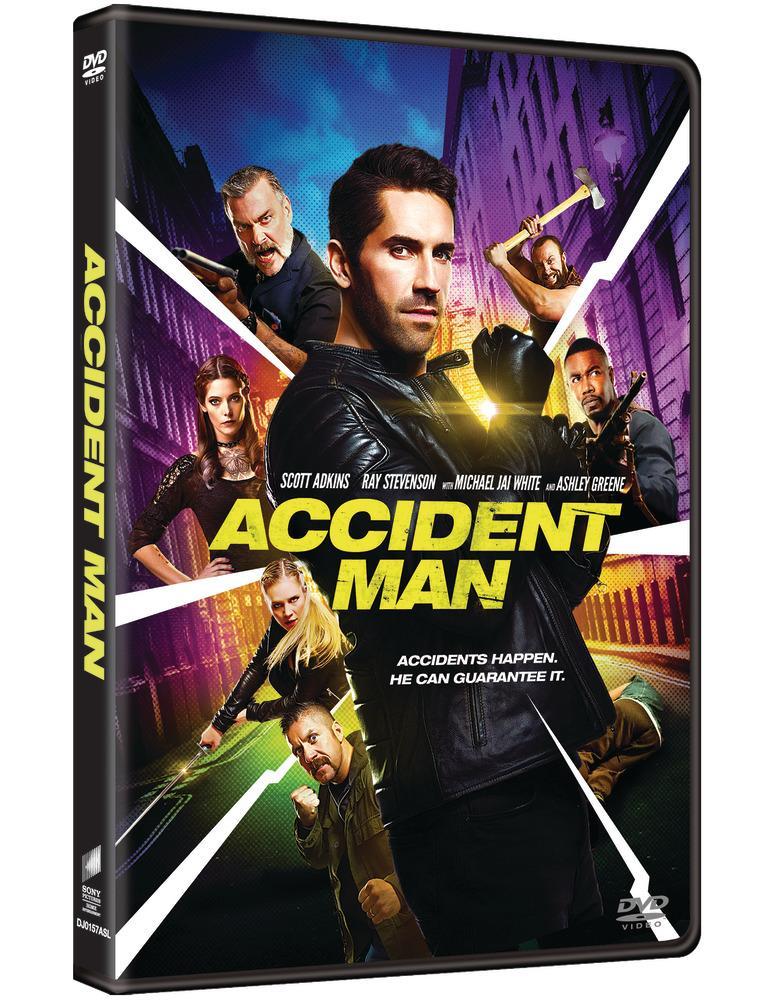 ACCIDENT MAN DVD (M18/C3)