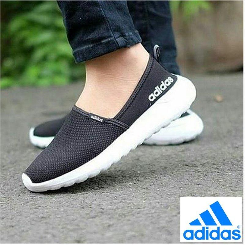 adidas cloudfoam lite racer aw4083 black womens shoes