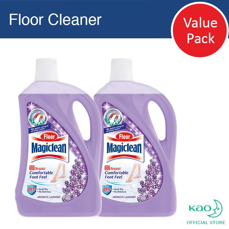 Floor Magiclean Lavender 2l (set Of 2) By Kao Homecare.