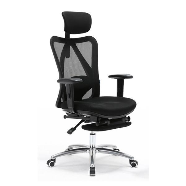 M16 Office Chair With Legrest (Black) Singapore