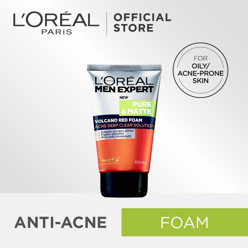 Buy Pure & Matte Volcano Foam 100ml by LOreal Men Expert Singapore