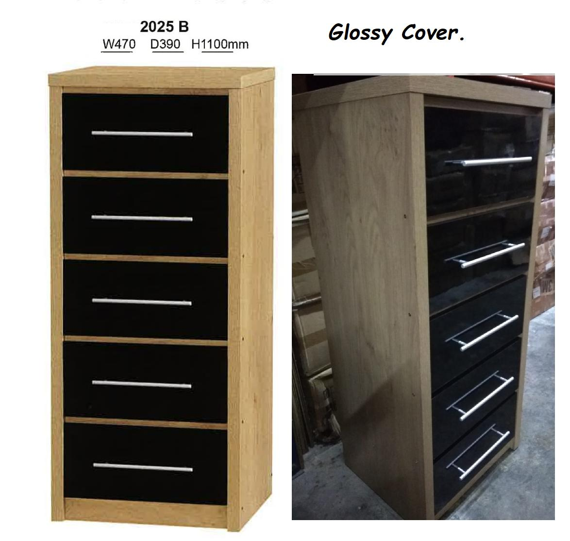 [MAAYRISE] Chest Drawer (5Tier) -2025(Black)