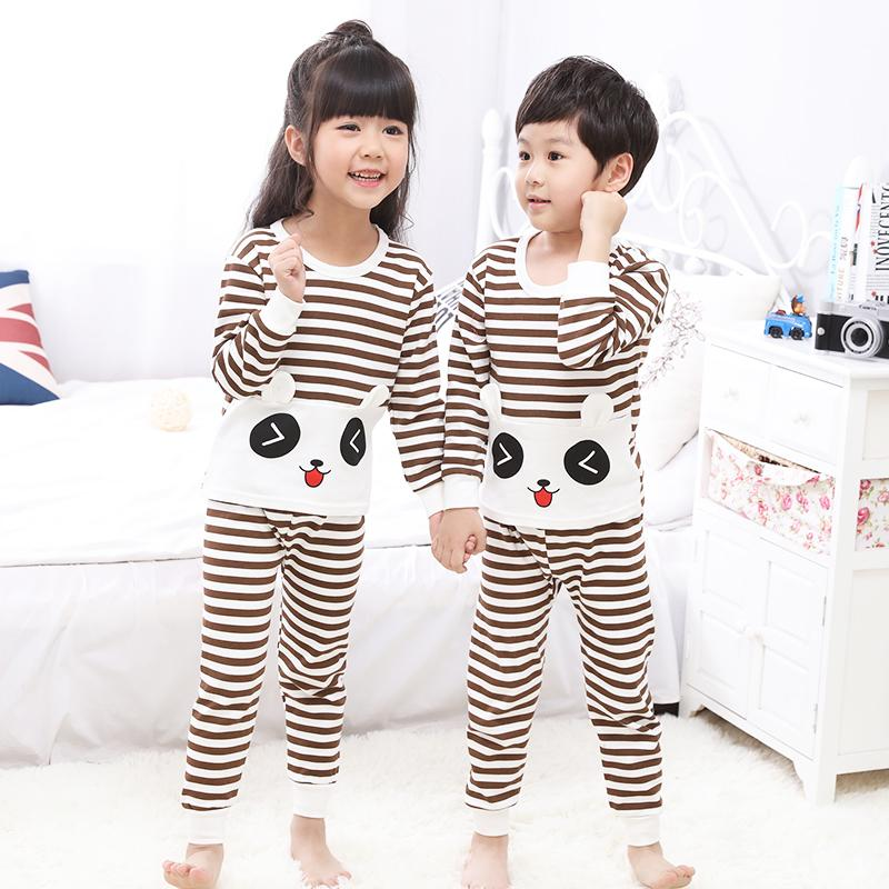 Big Kids Pyjamas /children Family Couple Pyjamas Set Up To Size 180cm Boys [pjn09] By Jolly Sg.