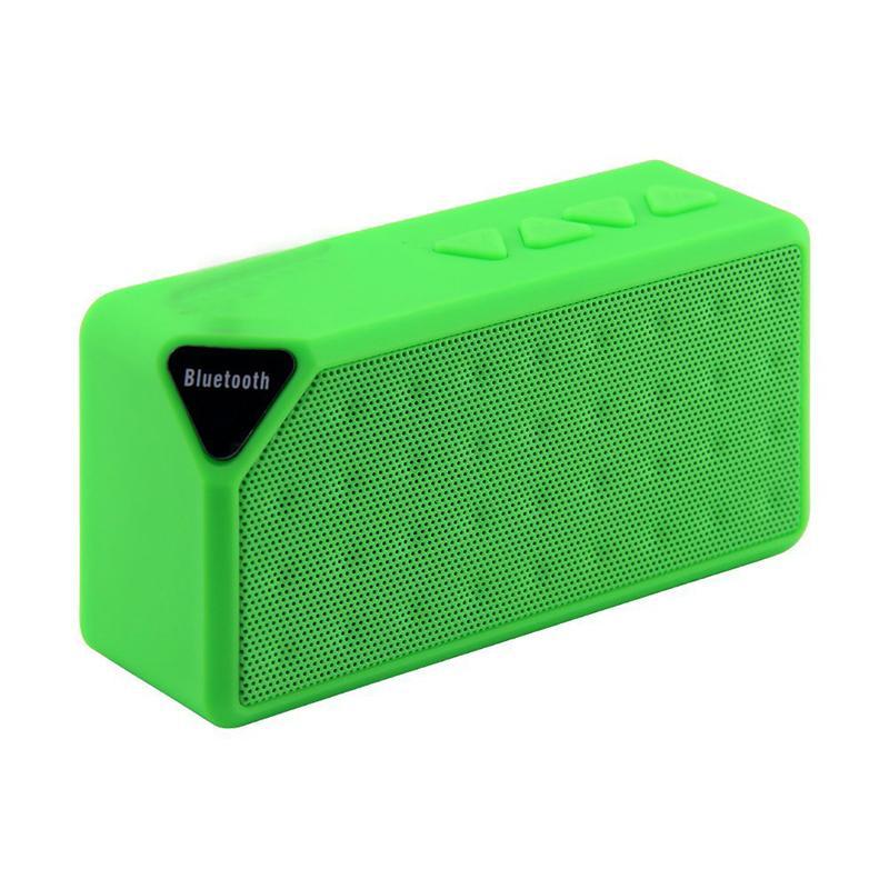 Buy X3 Multifunctional Mini Bluetooth Speaker Supports Bluetooth Line In Connection Fm Radio Tf Card Singapore