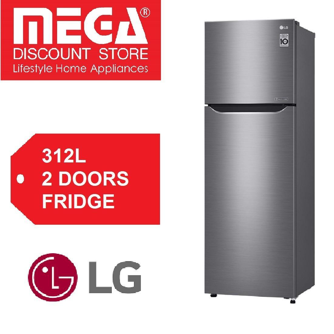 Deals For Lg 312L 2 Doors Fridge Gt B3127Pz