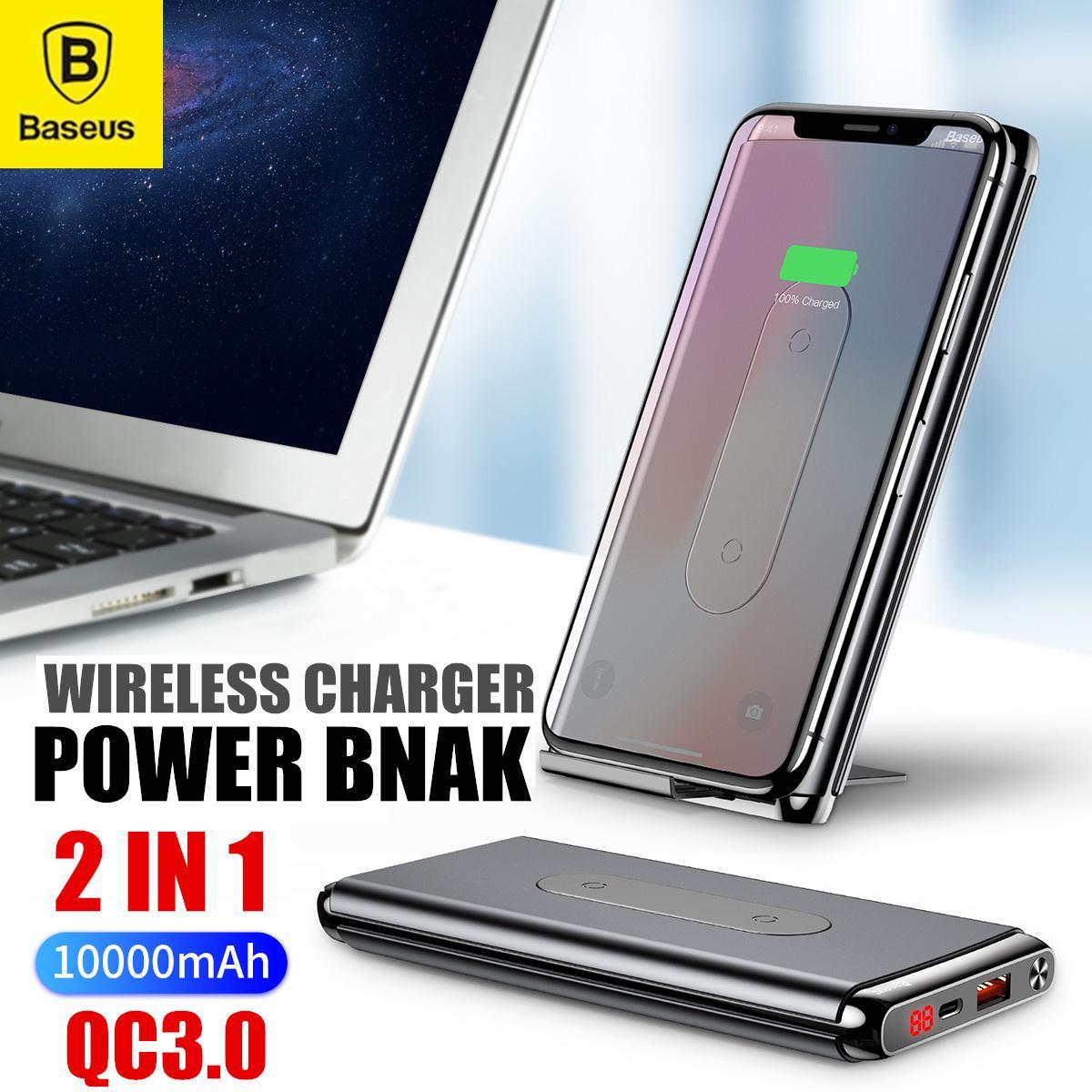 Buy Power Banks Xiaomi Portable Bestseller Powerbank 10000mah Bank Mi Pro 2 10000 Mah Fast Charging Baseus Bracket Wireless Charger Qc30 Digital Display Charge