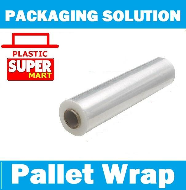 Pallet Packaging Plastic Shrink Wrap Stretch Film 18 X 1500ft Long By Plasticsupermart.