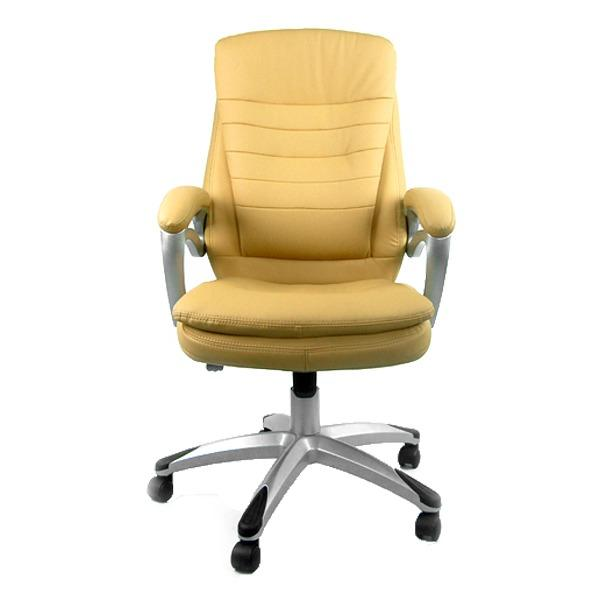 Rosswell 719BT Office Chair (Khaki/PU Leather) Singapore