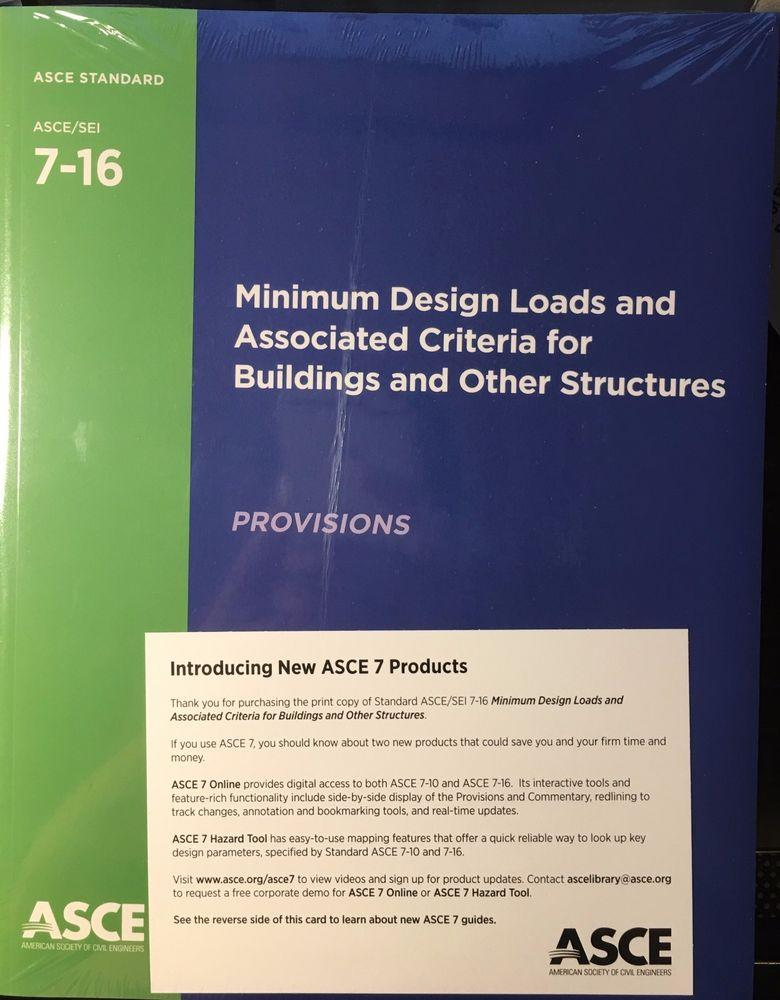ASCE 7-16 - Minimum Design Loads and Associated Criteria for Buildings and Other Structures Book