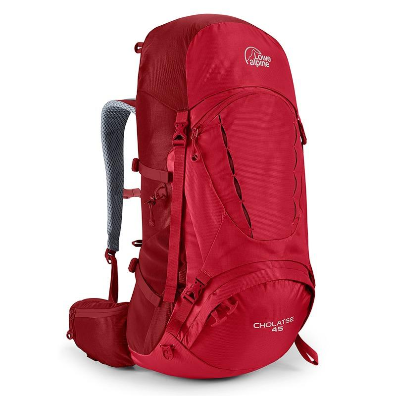 Lowe Alpine Cholatse 45L Backpack Trekking Hiking Camping - Oxide Auburn 22a007b641849