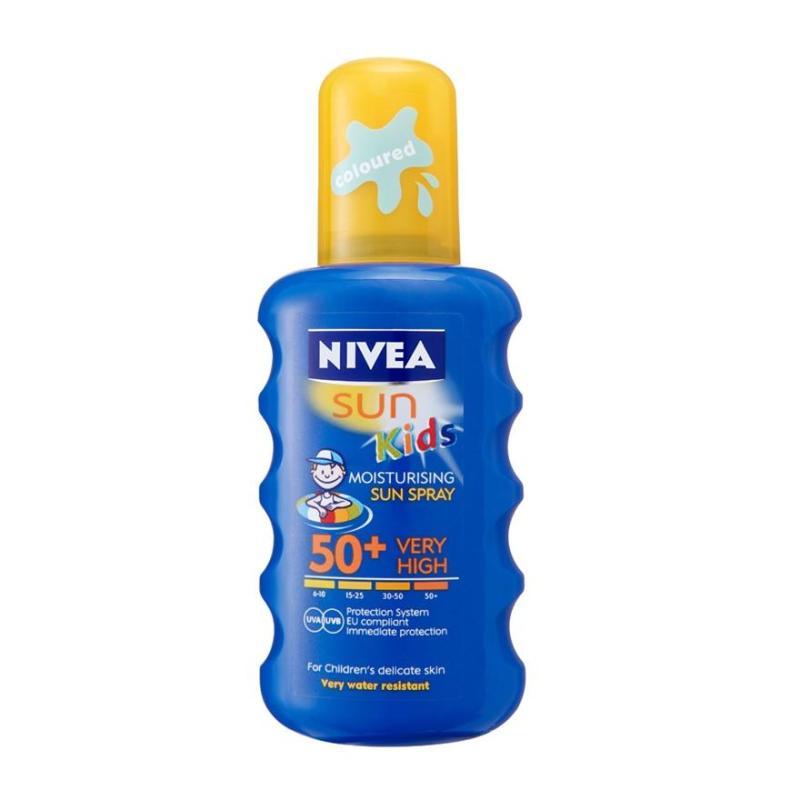 Buy Nivea Kid Sun Spry Spf50 200Ml Singapore