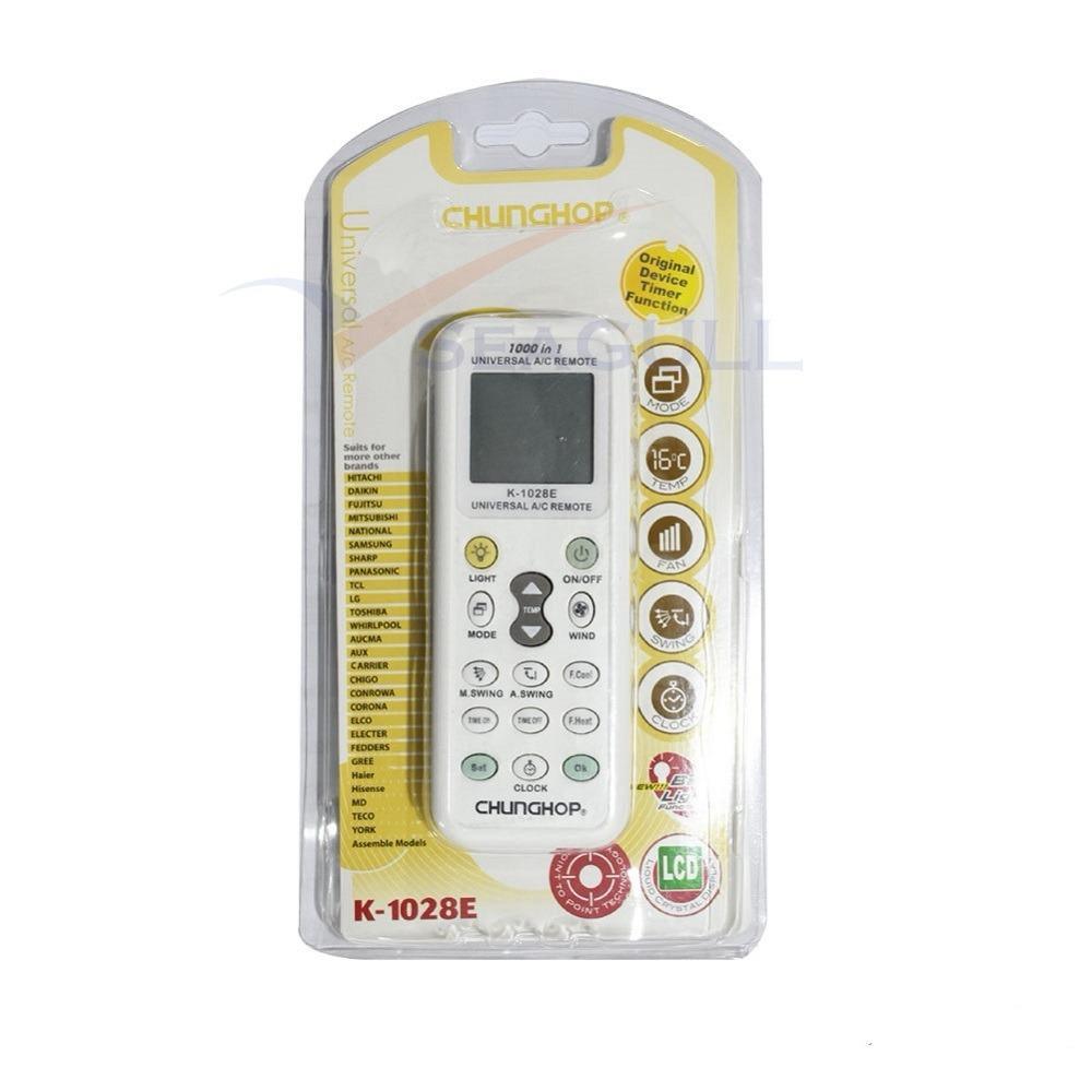 Sale Chunghop K 1028E Universal Aircon Remote Controller Daikin Sanyo Samsung Sharp Fujitsu Lg National Toshiba Singapore Cheap