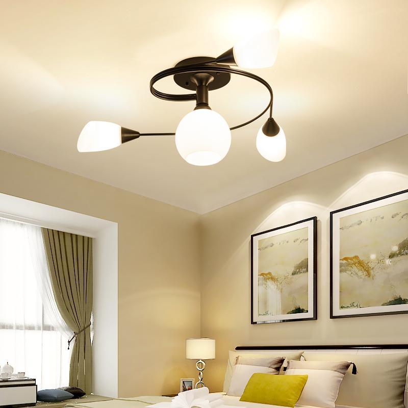 LED Modern Minimalist Ceiling Light Nordic Style Creative Bedroom Living Room Dining Room Study Room Restaurant Cafe Bar Shops Childrens Room Chandelier 70*30cm A++ - intl