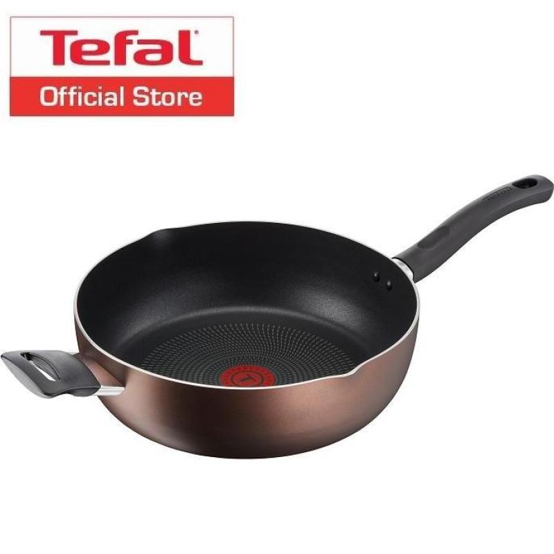 Tefal 28cm Super Cook Plus Deep Frypan G10366 Singapore