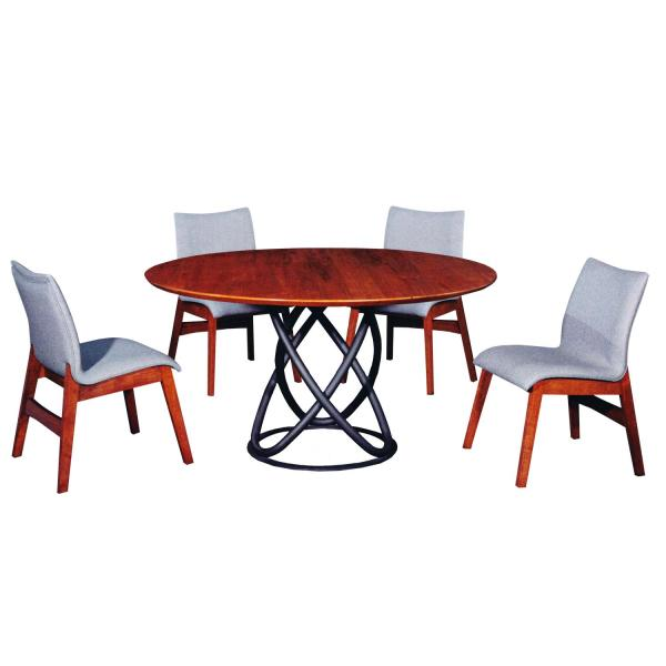 LIVING MALL_Fabiola Dining Set 1+6_FREE DELIVERY